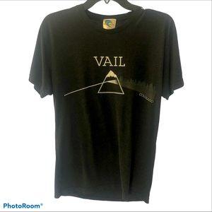 Black Vail Pink Floyd Style T-Shirt